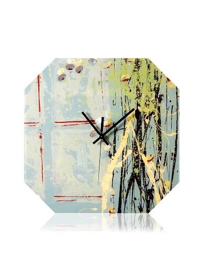 HangTime Designs Blackberry Octa Wall Clock, Multi
