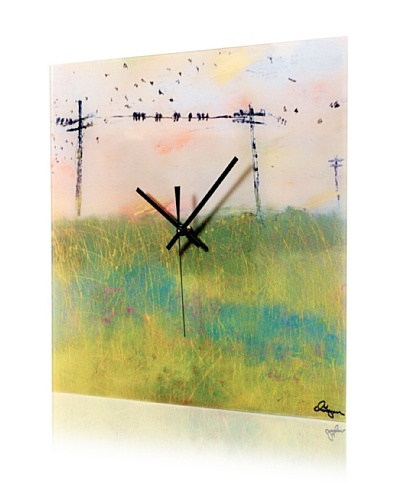 HangTime Designs Amarillo Wall Clock