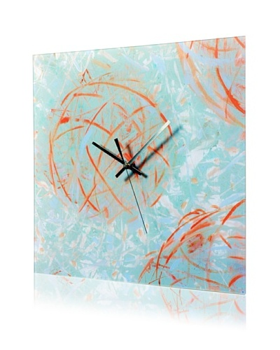 HangTime Designs Reoccurring Dreams Wall Clock, Blue