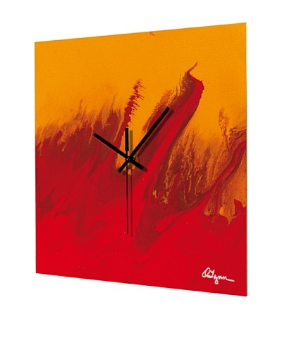 HangTime Designs The Red One Wall Clock