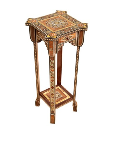 Hannibal Plant Stand With Drawer