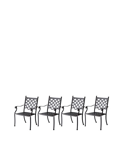 Hansen Set of 4 Provence Dining ChairsAs You See