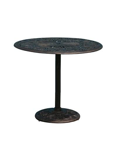 Hansen Balmoral Round Pedestal Bar Table, Bolero