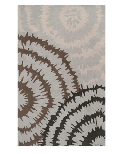 Harlequin New Zealand Wool Rug, Silvered Gray/Mushroom/Pewter [Silvered Gray, Mushroom, Pewter, Parc...