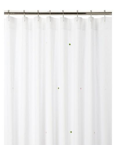 Haute Home Polka Dots Shower Curtain, Multi