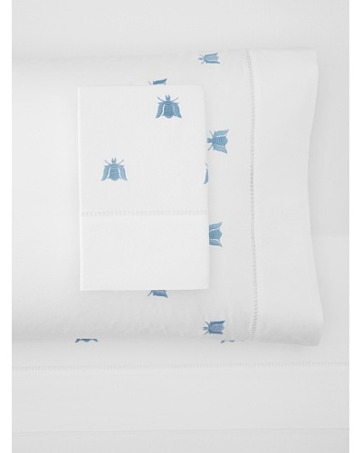 Haute Home Embroidered Bee Sheet Set