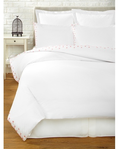 Haute Home Embroidered Scallop Duvet Set