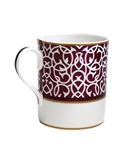Hermès Swirled Attelage Mug, Red/White