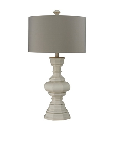 HGTV Home Parisian Plaster Finish Lamp