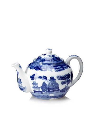 Blue Willow Teapot with Infuser