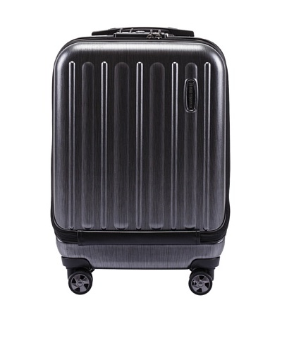 Hideo Wakamatsu Women's Flash Carry-On, Black