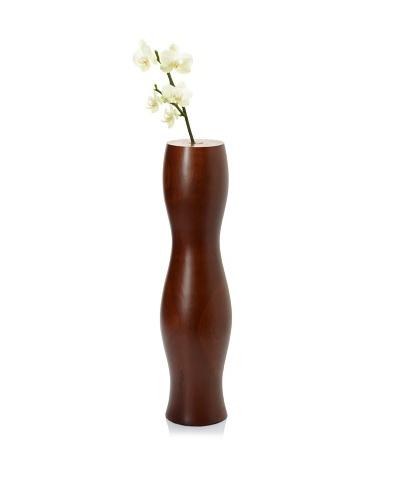 Bahari Teak Wood Eve Bud Vase