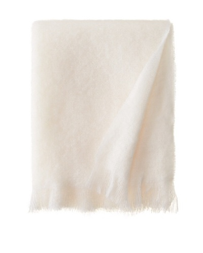 Hinterveld Beautiful Story White Night Throw, White