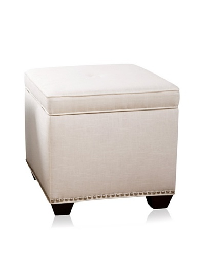 Sandy Wilson Cashmir Storage Cube, Off-White