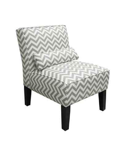 Skyline Armless Chair, Ash White
