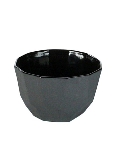 HomArt Small Quartz Faceted Ceramic Bowl