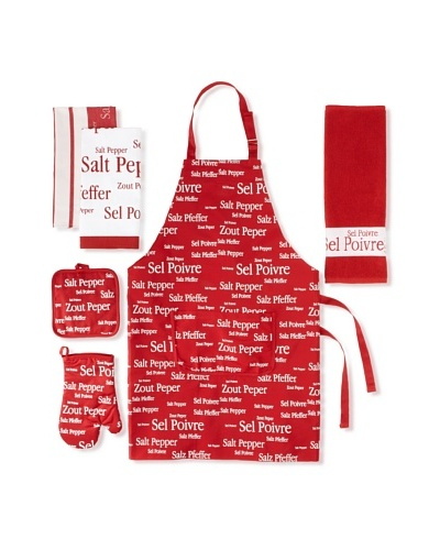 Winkler Sel & Poivre Kitchen Essentials Set, Red