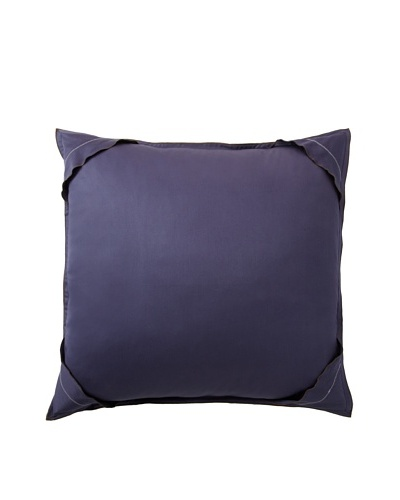 Home Concept By Belle Epoque Phoenix Collection Sham, Blue, Euro