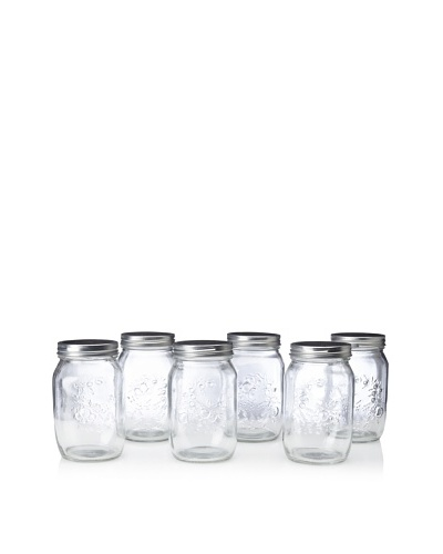 Home Essentials Preserving Essentials Set of 6 Canning Jars
