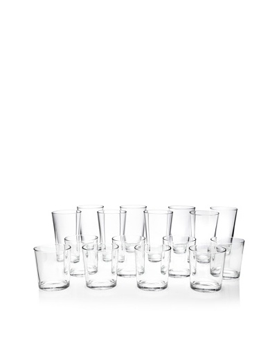 Home Essentials Alanya 16-Piece Glassware Set