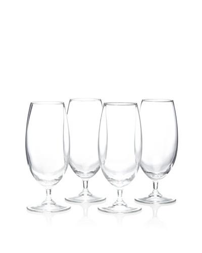 Home Essentials Set of 4 Iced Beverage Glasses, 14-Oz.