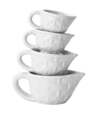 Home Essentials 4-Piece Measuring Cup Set [White]