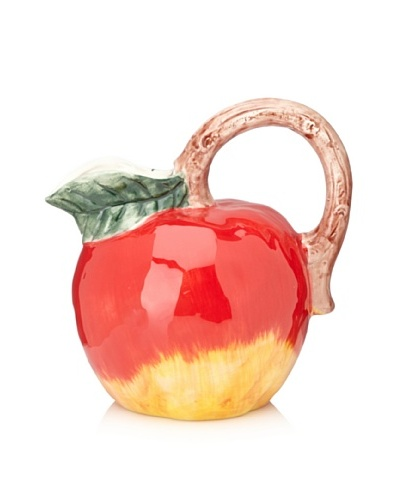 Home Essentials 9 Apple Pitcher, Red