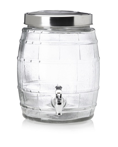 Home Essentials Brew Barrel Drink Dispenser, 2-Gal.