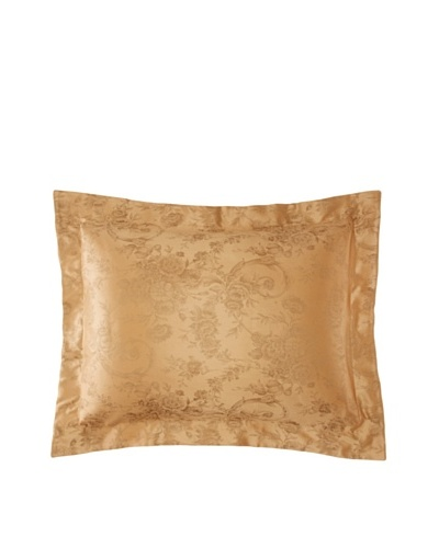 Home Treasures Victoria Floral Sham [Olive/Gold]