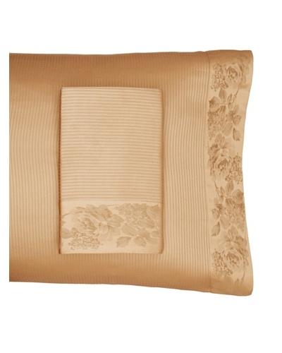Home Treasures Victoria Stripe Pillowcases [Olive/Gold]