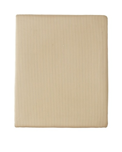 Home Treasures Victoria Striped Fitted Sheet [Gold/Blue]