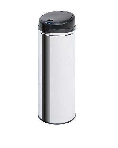 Honey-Can-Do High-Capacity Round Sensor Trash Can