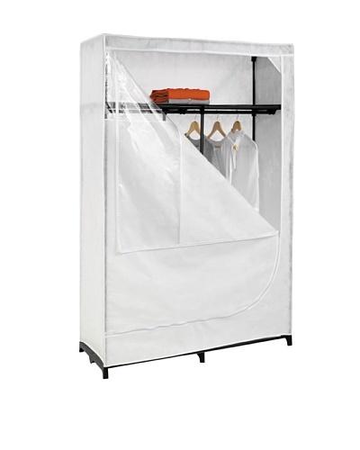 Honey-Can-Do Portable Clothing Storage Closet with Top Shelf