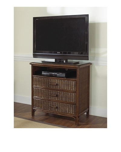 Hospitality Rattan Padre Island Three Drawer Media Chest