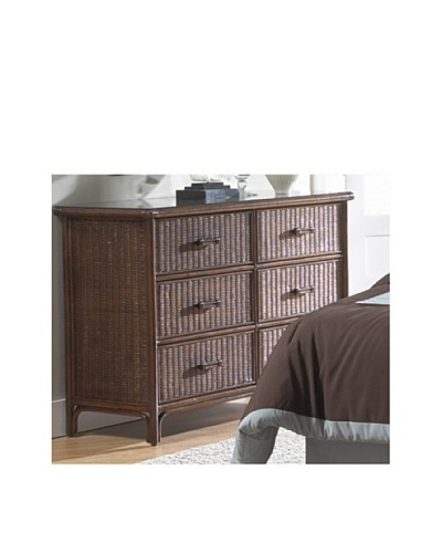 Hospitality Rattan Padre Island Six-Drawer Dresser