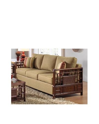 Hospitality Rattan Padre Island Upholstered Rattan & Wicker Sofa Bed