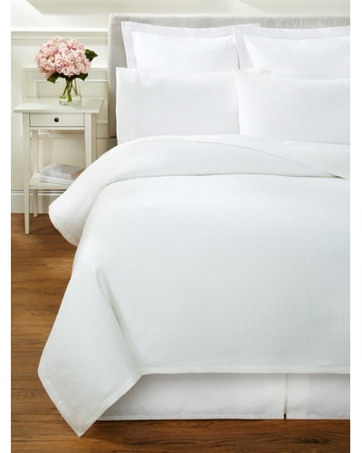 Hotel Fine Linens Feather Touch Cotton Blanket