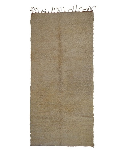 Hotel Marrakeche One of a Kind Hand Knotted Moroccan Rug, Natural, 5' 6 x 12' 6