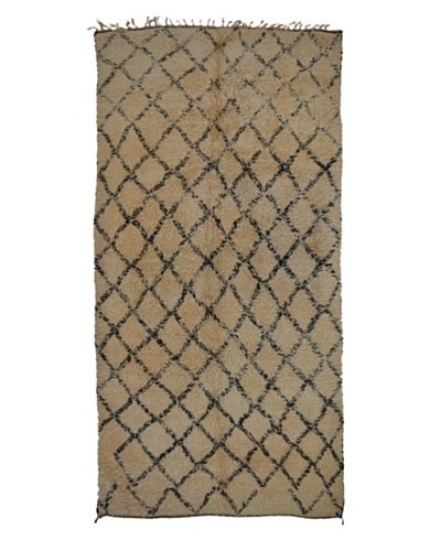 Hotel Marrakeche One of a Kind Hand Knotted Moroccan Rug, Natural, 6' x 13'