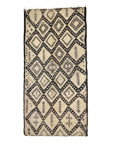 Hotel Marrakeche One of a Kind Hand Knotted Moroccan Rug, Natural, 6' x 12' 8
