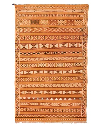 "Hotel Marrakeche One of a Kind Hand Knotted Moroccan Rug, Tan/Crème/Brown, 4' 4"" x 7' 5"""