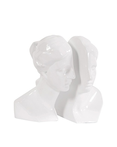 Howard Elliott Set of 2 Book Ends Abstract Male & Female Bookends