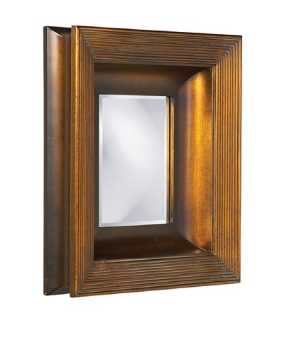 Howard Elliott Collection Hannover Rectangular Mirror, Deep Copper
