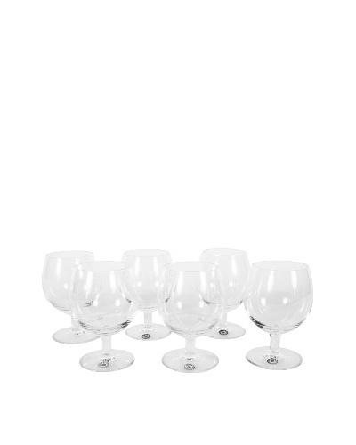 Vintage Set of 6 St. Lambert Cognac Glasses II, Clear