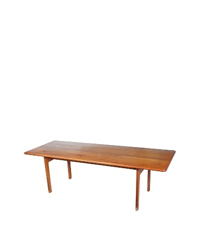 Scandinavian Rosewood Coffee Table, Brown