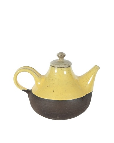 Henrik Ditlev Teapot, Yellow/Brown