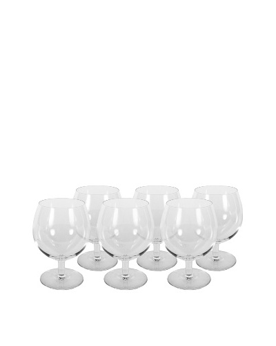 Vintage Set of 6 St. Lambert Red Wine Glasses, Clear