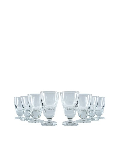 Set of 8 Petite Taster Glasses, Clear