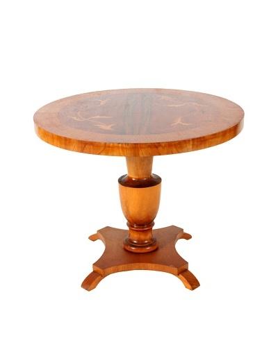 Biedermeier Style Parlor Table, Tan