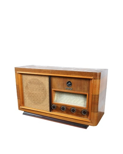 Radiobell International Radio, Brown/Gold/Cream
